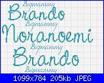 """Scritta """"E' nato Brando""""-scritta-jpg"""