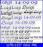 Nome *Luigi*-luigi-png