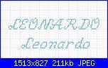 Scritta leonardo-leonardo-jpg