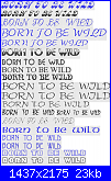 scritta * born to be wild*-1-png