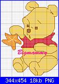 realizzare schemi: Winnie e Pimpi-pooh-con-stella-png