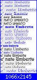 Fiocco a forma di stella + è nato Umberto-nato-umberto-png