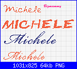 Nome Michele-michele-2-png