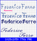 Nomi Federico e Sara-federico-png