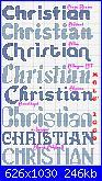 Nome Christian-chistia-l-86-jpg