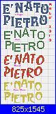 "Scritta: ""é nato Pietro""-nato-pietro-jpg"