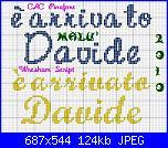 E' arrivato  Davide-arrivato-davide-script2-jpg