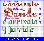 E' arrivato  Davide-arrivato-davide-script-1-jpg