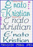 E' nato Kristian-e%5C-nato-kristian-b-jpg