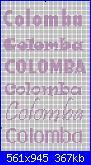 """Scritta nome """" Colomba""""-colomba-jpg"""