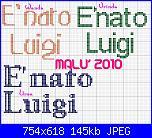 scritta: è nato luigi-e-nato-luigi-2-jpg