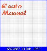 """scritta """" E' nato Manuel""""-manuel3-jpg"""