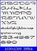 Alfabeto con font DRAGONFLY-dragonfly-font-jpg