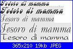 """Scritta: """"tesoro di mamma""""-tesoro-di-mamma-jpg"""