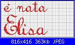"""Scritte """"è nata/è arrivata Elisa""""-nata_elisa_2-jpg"""