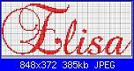 """Scritte """"è nata/è arrivata Elisa""""-nome_elisa_2-jpg"""