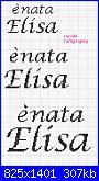 """Scritte """"è nata/è arrivata Elisa""""-%E8-nata-elisa-jpg"""