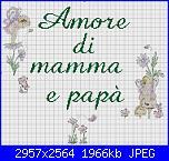 "Scritta ""Amore di mamma e papà""-amore-di-mamma-e-jpg"