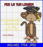 Scritte Laurea + scimmietta-laurea-jpg