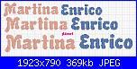 Cerco scritta Martina e Enrico-martina-enrico-jpg