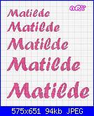 Chi mi aiuta con  il nome * Matilde* in corsivo-matilde7-jpg