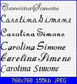 Nomi in corsivo...Carolina e  Simone-carolina-simone-jpg