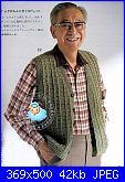 Uomo a Crochet-uomo-gilet-aperto-1-jpg