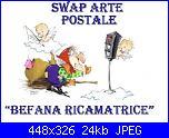 "Swap Arte Postale "" Befana Ricamatrice""-presentazione1_a-jpg"