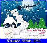 Swap Arte Postale : Natale-megghy-jpg