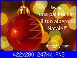 """Swap """"una pallina per il tuo albero di Natale!""""-immagine-swap-png"""