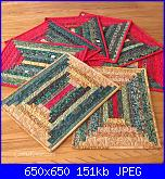 Proposta sal impariamo: tovaglietta patchwork-log-cabin-jpg