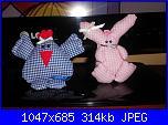 foto sal cucito : gallinella e coniglietto-dscn09549-jpg