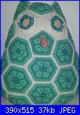 Foto Sal :realizziamo con le piastrelle a fiori africani all'uncinetto-20131009_171713-1-1-1-jpg