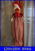 Foto SAL Arrediamo la cucina: Il porta sacchetti GUFO/GALLINA-gallina1-jpg