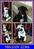 Foto sal amigurumi: un cagnolino by Teri Crews-mammola-cane-bianco-e-nero-jpg