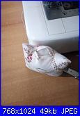 """Foto Sal impariamo a """"Conoscere la nostra macchina da cucire"""" i nostri primi cuciti!!-sonia-jpg"""