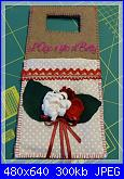 Foto sal Natale in feltro: il carica cellulare-p1070066bis-jpg