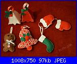 Foto sal Natale in feltro: decori per l'albero-uploadfromtaptalk1479766126966-jpg