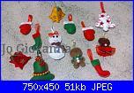 Foto sal Natale in feltro: decori per l'albero-21f6863877182976f3179b1283393399-jpg
