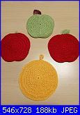 """Foto SAL uncinetto """"Frutta in cucina per mamma""""-paola-3-jpg"""