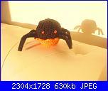 Foto sal Amigurumi dolce Halloween-ragno-taty-jpg