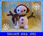 Foto SAL aspettando il Natale - prima parte - pupazzo di neve-mari-1-jpg