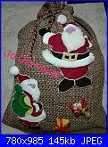 Foto Sal aspettando il Natale 2a parte - Cucito creativo - I sacchi dono-jo-jpg