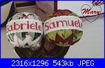Foto Sal quilted balls-mary5-jpg