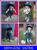 Votazioni Contest vestiamo una bambola-bambino-con-il-cane-1-jpg