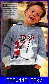 * Maglioncino bimbo 8 mesi con disegno natalizio *-m-4-jpg