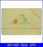 come riportare un disegno su una copertina di lana?-lenzuoliono_lumaca_giallo-jpg