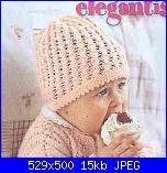 scarpette e cappellino neonato-cappellino-rosa-jpg