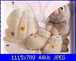 scarpette e cappellino neonato-completino-farfalline-jpg