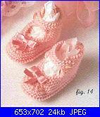 scarpette e cappellino neonato-scarpine-baby1-jpg